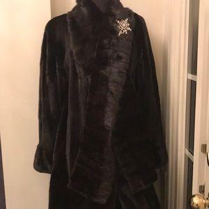 Black Diamond Mink Coat